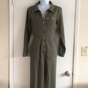 Awesome Green Jumpsuit Denim Emory Park